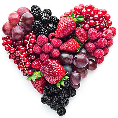 berries good for heart as well