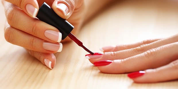 manicure at home