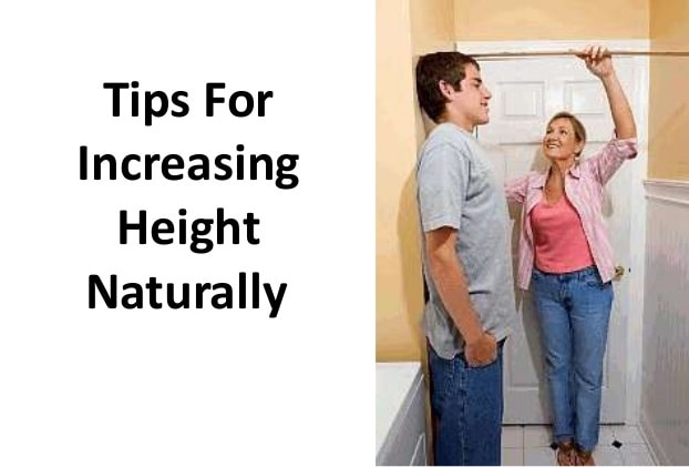 tips to increase height naturally