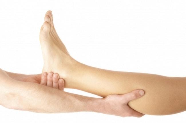 ankle massage