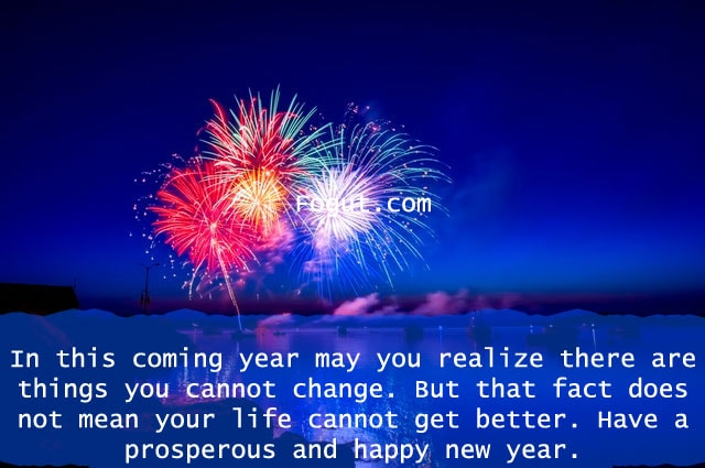 in this coming year may you realize there are things you cannot change.