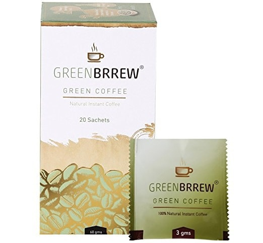 Greenbrrew Natural Instant Green Coffee For Weight Loss