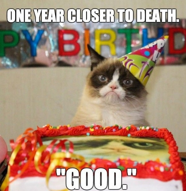 negative birthday meme for guys