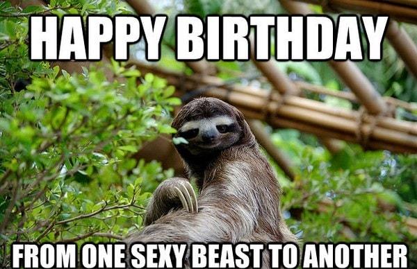 one sexy beat birthday meme