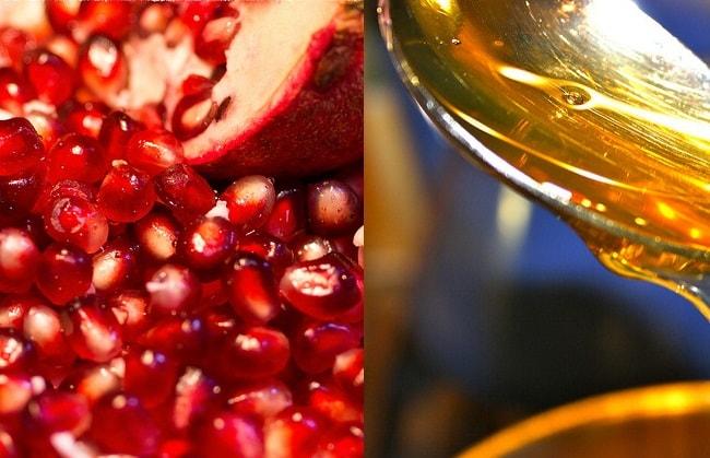 pomegranate & honey