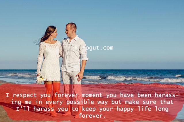 I respect you forever moment