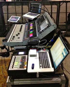 iLive FOH setup