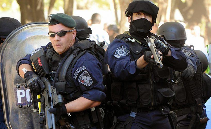 Policía represión