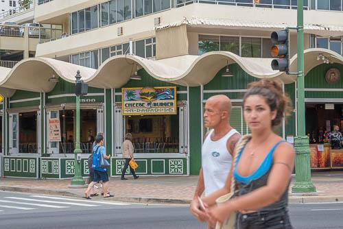 fokopoint-3229 Hurricane Lane in Waikiki before arrival