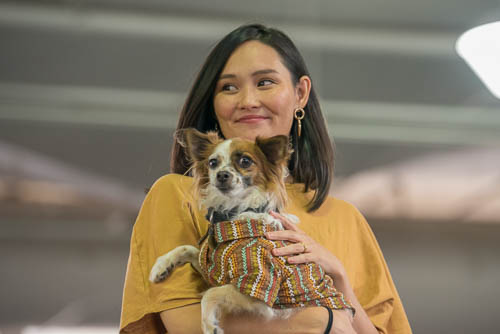fokopoint-4059-1 Celebrities and Their Pets Fashion Show
