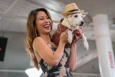 fokopoint-4362 Celebrities and Their Pets Fashion Show