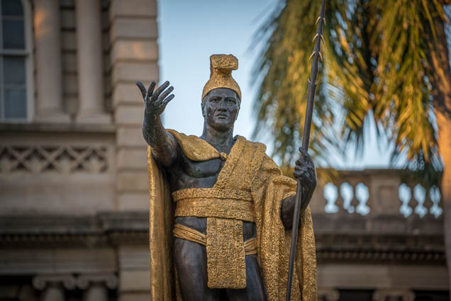 fokopoint-9412 King Kamehameha Statue at Ali'iolani hale
