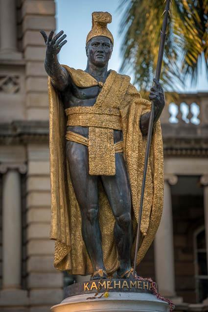 fokopoint-9413 King Kamehameha Statue at Ali'iolani hale