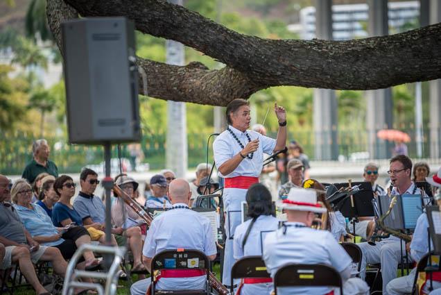 fokopoint-9725 Royal Hawaiian Band at Iolani Palace