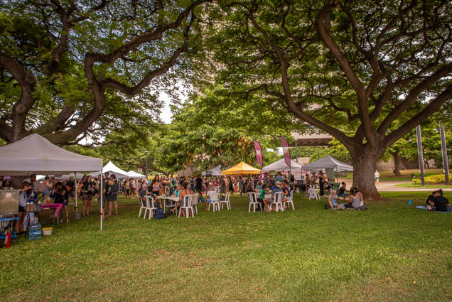 frank-fasi-civic-grounds-potluck-vegfest-oahu-fokopoint VegFest Oahu 2019