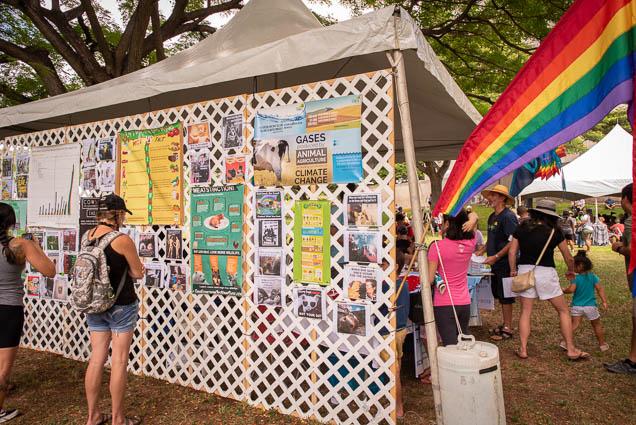 rainbow-flag-vegfest-oahu-fokopoint VegFest Oahu 2019