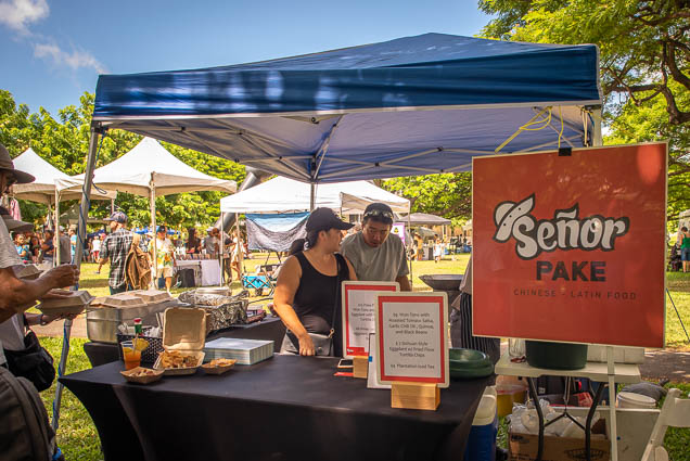 señor-pake-Chinese-latin-food-vegfest-oahu-fokopoint VegFest Oahu 2019