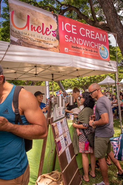 uncles-handmade-ice-cream-fokopoint VegFest Oahu 2019