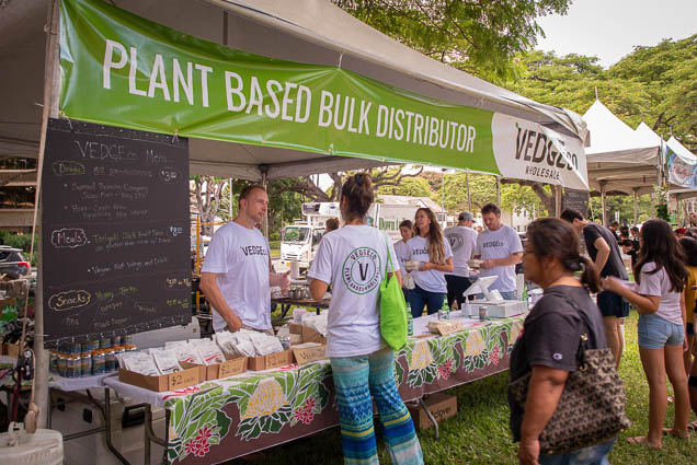 vedgeco-wholesale-plant-based-bulk-distributor-fokopoint VegFest Oahu 2019