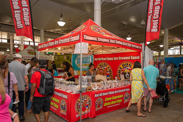 aloha-beef-chips-honolulu-fokopoint-1185 Food and New Product Show at the Blaisdell