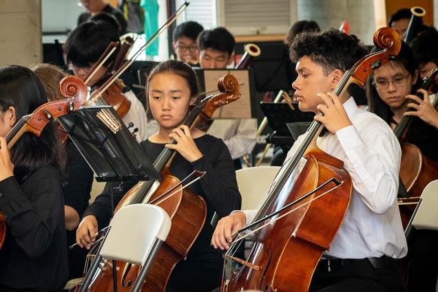 cellos-hawaii-youth-symphony-salt-kakaako-fokopoint-1312 Hawaii Youth Symphony at Salt Kaka'ako