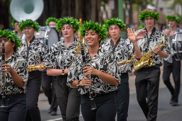 high-school-marching-band-floral-parade-2019-aloha-festivals-fokopoint-honolulu-9949 73rd Annual Floral Parade