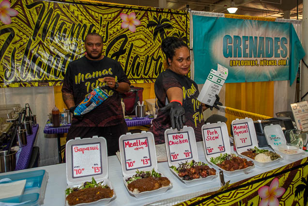 mamas-island-flava-honolulu-fokopoint-1187 Food and New Product Show at the Blaisdell