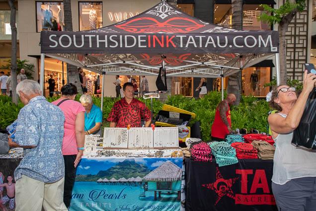 southside-ink-tatau-fokopoint-1212 Waikiki Bazaar Festival