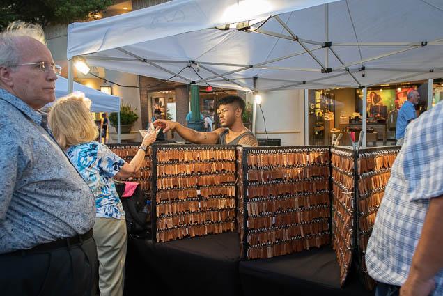 wood-keychain-vendor-honolulu-fokopoint-1293 Waikiki Bazaar Festival