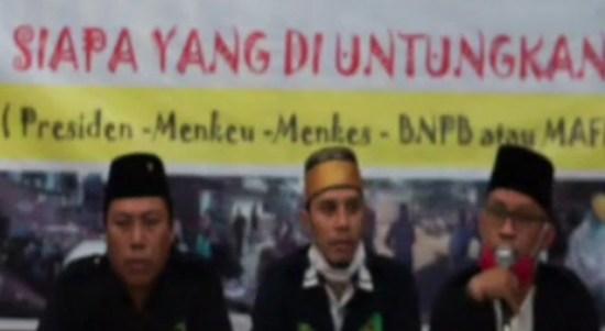 LBH PP GPI Akan Serahkan Bukti Awal Dugaan Korupsi Dana Covid-19 ke KPK
