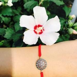 Bratara Floarea Vietii si marcasite