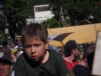 This kid...he looks so worried!