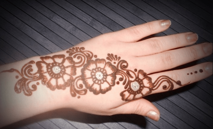 Mehandi Design 2017 Simple