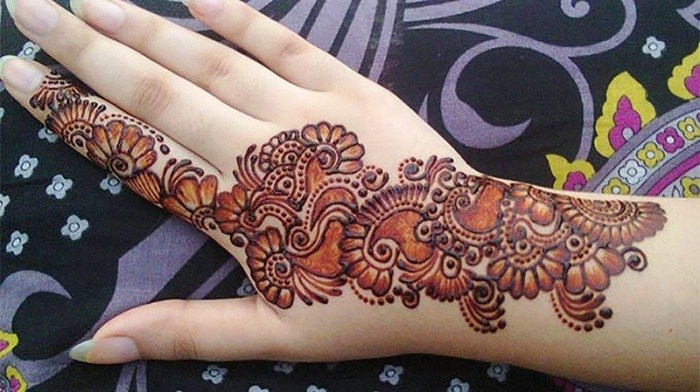 Mehandi Simple Design 2018