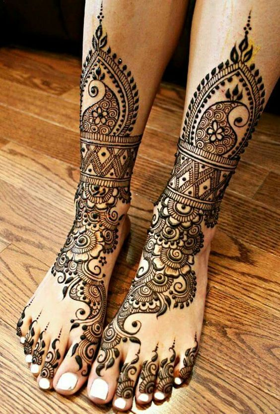 Mehndi Legs Images : Fabulous foot mehndi designs for your next event folder