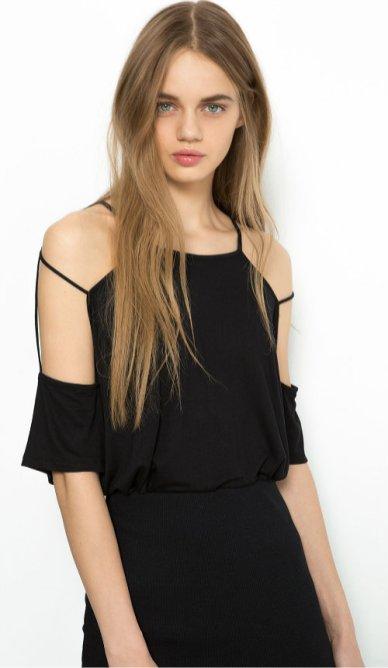 Bershka strappy t-shirt 1190