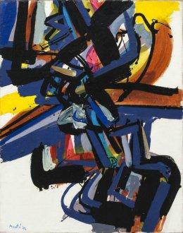 Edo Murtić, bez naziva, 1974, ulje na platnu, 92 x 73,5 cm
