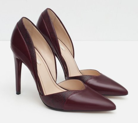 HIGH HEEL D'ORSAY SHOES 4990 zara
