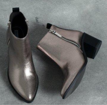 boots with metallic heels 5290
