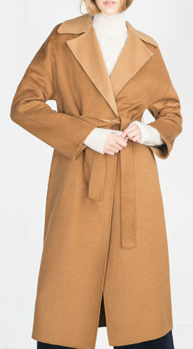 HAND MADE COAT z 18990 45 wool, 32 polyester, 23 viscose