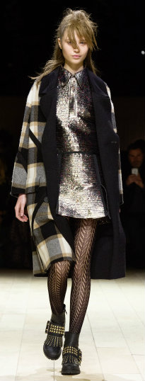 Burberry Womenswear February 2016 Collection - Look 13