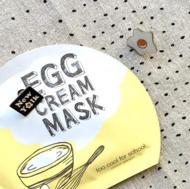 EGG CREAM MASK HYDRATION