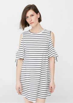 mng Cold shoulder dress 990