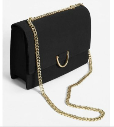 chain leather bag 5490