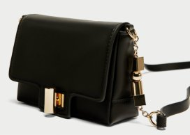zara CROSSBODY BAG WITH STRAP DETAIL 2590