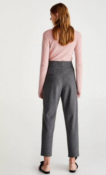 pab Trousers with draped front 3990 (2)