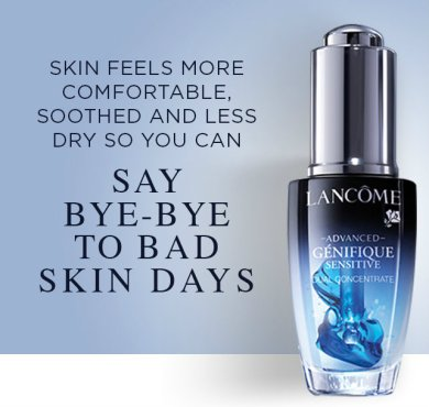 1 genifique sensitive dual concentrate