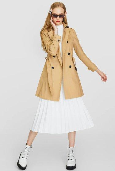Lapel collar trench coat 3990 strd
