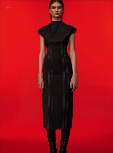 haljina sa šavovima 6590