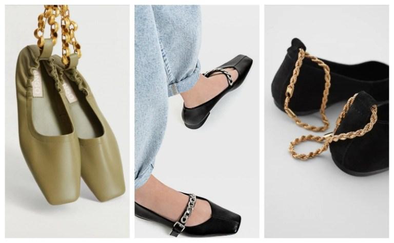 cipele sa nakitom lanci